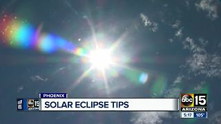 GUIDE: How to prepare for solar eclipse - Video