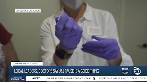 Local leaders, doctors say J&J vaccine pause is a good thing