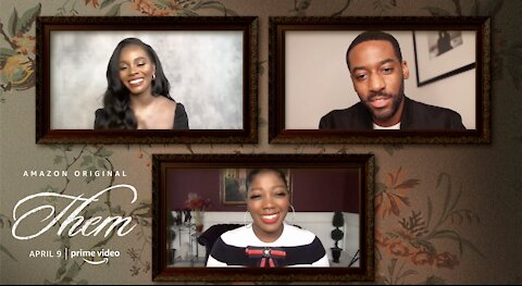 Cast of THEM, w/ Anika Noni Rose, Deborah Ayorinde, Shahadi Wright Joseph discuss the terror series