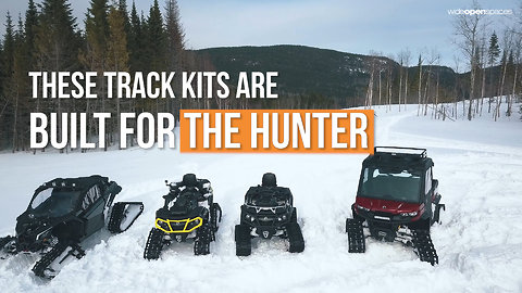 CAN-AM'S NEW TRACK SYSTEM ABSOLUTELY DOMINATES THE SNOW