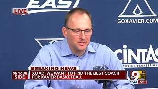 AD: We want to find the best coach for Xavier basketball - Video
