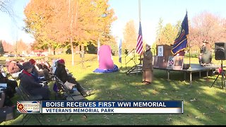 New memorial unveiled on Veterans Day honors WWI vets