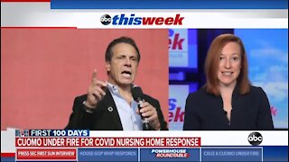 WH Won't Condemn Cuomo Over Nursing Homes Deaths