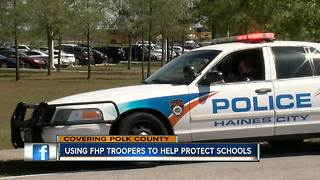 Haines City PD partners with FHP to cover schools with law enforcement - Video
