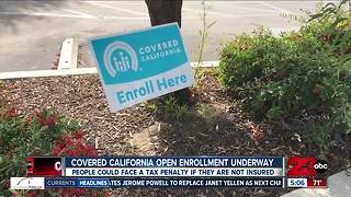 Covered California open enrollment efforts underway - Video