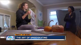 Sibling speedskaters trying to make the Winter Olympics - Video