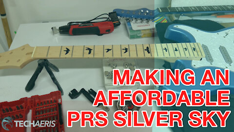 The HLK Silver Sky Project: Turning A Hard Luck Kings Strat Into A PRS Silver Sky