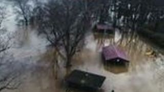 Mason Submerged During Ohio Valley Flooding - Video