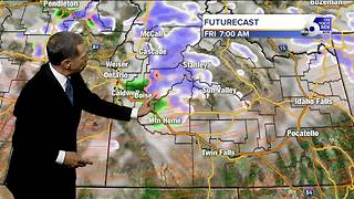 A Taste of Winter in Idaho Friday - Video
