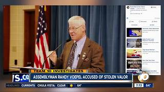 Stolen valor claims brought against local assemblymember but accusers provide no evidence - Video