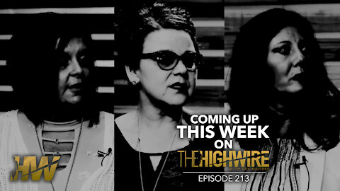 An exclusive interview TOMORROW, April 29th, 2021, on The HighWire!