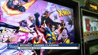 Midwest Gaming Classic comes to Milwaukee - Video