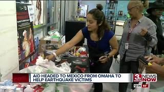 Local volunteers head to Mexico City - Video