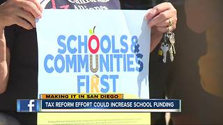 Tax reform effort could increase school funding