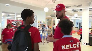 Travis Kelce and Operation Breakthrough