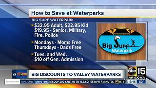 Big discounts at Valley waterparks - Video