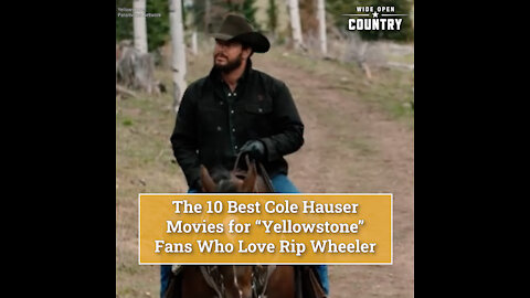 The 10 Best Cole Hauser Movies for 'Yellowstone' Fans Who Love Rip Wheeler