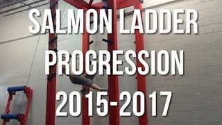 Man Documents His Salmon Ladder Progression Over Three Years - Video