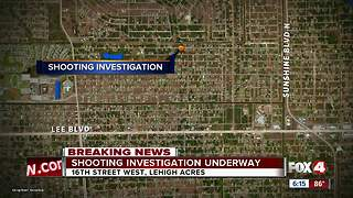 Shooting investigation underway in Lehigh Acres - Video