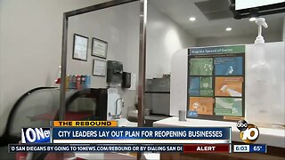 San Diego leaders lay out plan for reopening businesses
