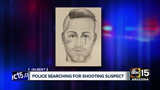 Gilbert police looking for shooting suspect