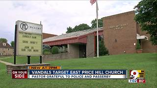 Vandals target East Price Hill church - Video