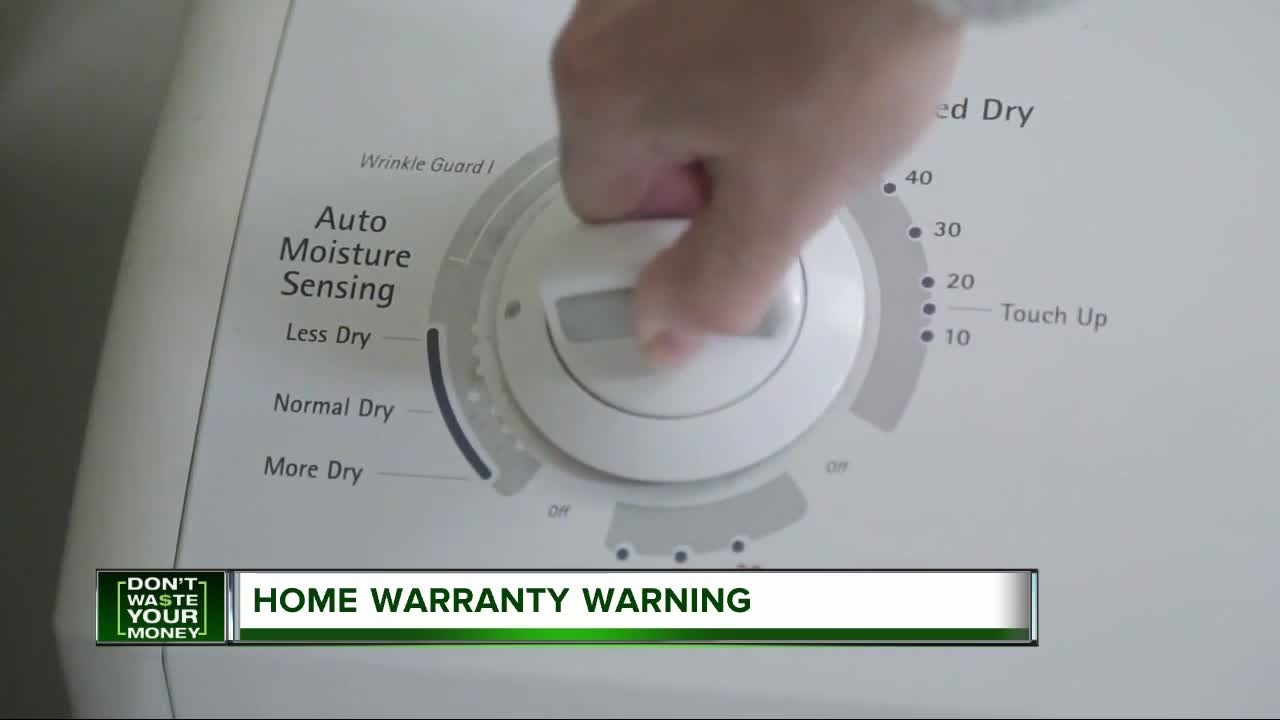 Don't Waste Your Money: Home warranty warning