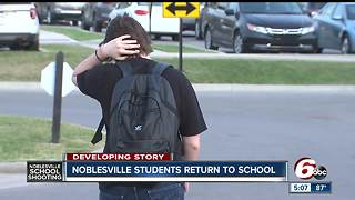 Noblesville students return to class days after school shooting - Video