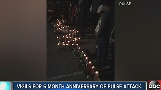 Vigils held to remember victims of Pulse shooting on 6 month anniversary - Video