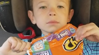 Mom Fools Son With The Fresh Cheetos Prank - Video