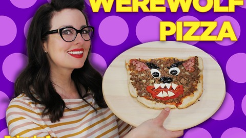 Spooky Werewolf Meat Lovers Pizza for Your Halloween Treat! | Will It Pizza?