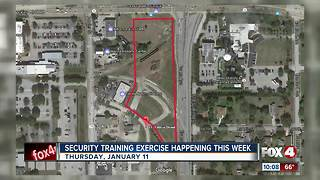 Homeland Security training exercise to take place in Fort Myers - Video
