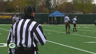 Packers host Salute to Service Flag Football Tournament - Video
