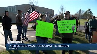 Protesters want Jefferson principal to resign