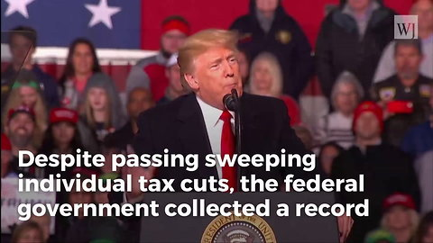 Despite Trump Tax Cuts, Feds Claiming Record Haul for 2018