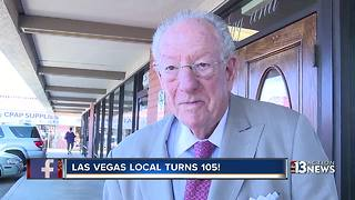 Las Vegas woman celebrating 105th birthday - Video