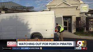 How to prevent 'porch pirates' from wrecking your holiday joy - Video