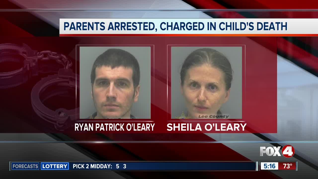 Cape Coral couple arrested in child's death