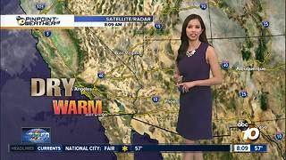 10News Pinpoint Weather for Sun. February 4, 2018 - Video