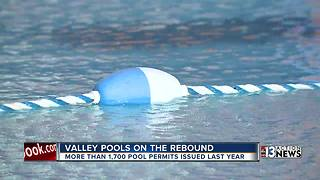 Swimming pool builders on the rebound in Las Vegas - Video