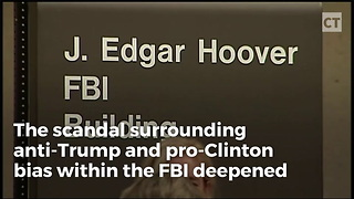 """Texts Reveal: Day After Trump Win, FBI Formed """"Secret Society"""" - Video"""