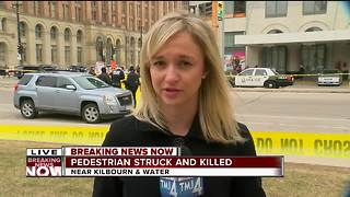 Milwaukee Fire: Pedestrian killed in downtown collision