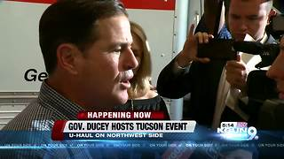 Ducey comments on Trump's executive order at campaign event - Video