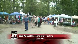 33rd annual St. Johns Mint Festival - Video