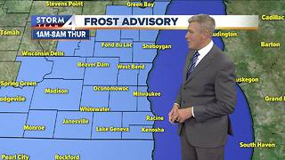 Frost Advisory for all of SE Wisconsin tonight - Video