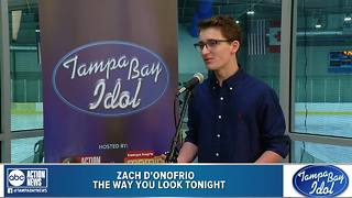Tampa Bay Idol Audition: Zach D'Onofrio - Video
