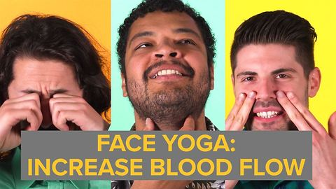 Face Yoga: For circulation (and looking ridiculous)