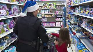 Summit County kids get a head start on the holidays with second annual Christmas with a Cop - Video