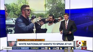 White supremacist Richard Spencer wants to speak at University of Cincinnati - Video