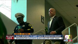 NAACP backs City Manager Harry Black amid allegations Mayor Cranley had asked him to resign - Video